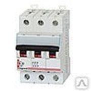 Автоматический выключатель Legrand DX 3p 25A C фото