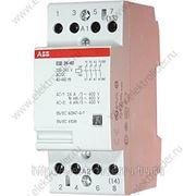 Модульный контактор ESB-24-40 катушка 24В фото