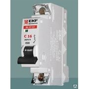 Автоматический выключатель EKF 1p25a тип C фото