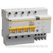 Автоматический выключатель дифференциального тока 4п 8мод.C 63A 30mA тип AC фото