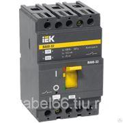 Автоматический выключатель ВА88-32 3Р 100А 25кА ИЭК, шт фото