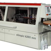 Компактный, автоматический кромкооблицовочный, станок Olimpic k 260 evo фото