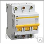 Автоматический выключатель ВА 47-60 3Р 50А 6 кА х-ка С ИЭК, шт фото