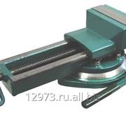 Тиски станочные поворотные 7200-3208 (А=80) фото