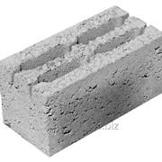 Фундаментный керамзитобетонный блок 2400 х 600 х 600 мм фото