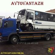 Евакуація автобусів фото