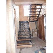 Монтаж лестниц, площадок и ограждений фото