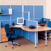 Офисные перегородки Вектор фото