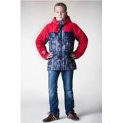 Куртка утеплённая для мальчика на мембране Бостон, размер 134-146, артикул 0115-19 фото