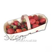 Лукошко, чаша, лодочка из дерева для ягод, овощей, фруктов