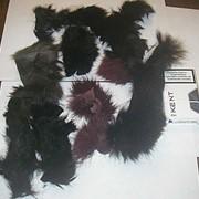 Обрезки меха лисы фото
