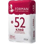 Клей для керамической плитки и керамогранита Форман 52 фото