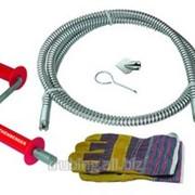 Прочистное устройство РОПАУЭР ХЭНДИ для труб,рукоятка,перчатка,спираль D=16мм,насадка Rothenberge фото