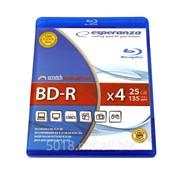 Esperanza BlueRay Disc BD-R 25GB x4 DVD box, BDR0019 фото