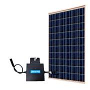 Солнечная модульная сетевая микро-электростанция 250 Вт фото