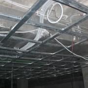 Устройство каркаса для потолка из гипсокартона
