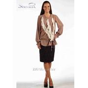 Блуза 508-1 Бежевый цвет фото