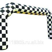Мобильная арка Шахматная фото