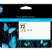 Картридж HP C9373A Yellow Ink Cartridge Vivera №72 130ml для Designjet T1100/Т1100ps/Т610 original фото