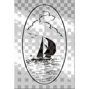 Обработка пескоструйная на 2 стекло артикул 101-07