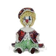 Маленький клоун в зелёном берете h 11 см (648510) фото
