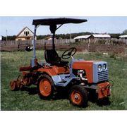 Разработка мини-трактор КМЗ-012 фото