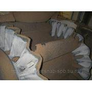 Конвейерная лента с гофробортом и поперечными ребрами фото