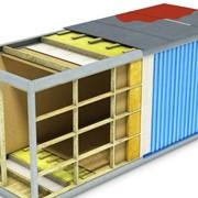 Блок-контейнеры из панелей трёхслойных стеновых и кровельных с минераловатным утеплителем на базальтовой основе фото