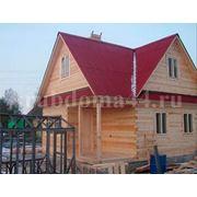 Строительство домов из бруса под ключ фото