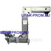 Z-образный вертикальный конвейер для фасовочных машин фото