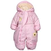 Комбинезон-трансформер для новорожденных, Для девочки, Весенний (Осенний), Розовый фото