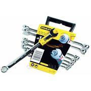 """Ключи гаечные Stanley Набор из 8-ми комбинированных гаечных ключей """"Accelerator"""" 8->16мм 4-89-997 фото"""