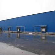 Строительство складских помещений фото