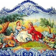 Панно влюблённые ручная роспись фото