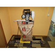 Мешкозашивочная установка GKS 6/26 для зашивания бумажных мешков с окантователем. фото