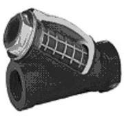 Фильтр сетчатый фланцевый ZETKAMA тип 821 Корпус: чугун, сетка – нерж. cталь Температура: фото
