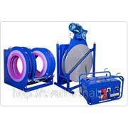Сварочные гидравлические машины Волжанин ССПТ-800Э для стыковой сварки полиэтиленовых труб фото