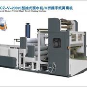 Оборудование для производства бумажных полотенец V-сложения фото