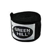 Бинт боксерский Green Hill BC-6235c 3,5м черный фото