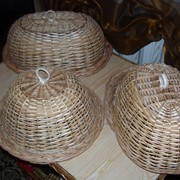 Плетеные изделия на заказ, изделия из лозы, Корзины пасхальные, Корзины пикниковые, хлебницы фото