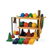 Набор для физкультурно-оздоровительных занятий детский (без тележки). Артикул: ИВ147 фото