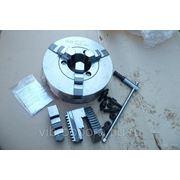 Патрон токарный БелТАПАЗ 3-х кул. 3-250.35.11П d=250мм (С7100-0035П) фото