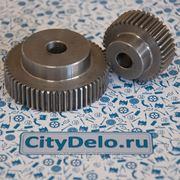 Зубчатая шестерня со ступицей Ст45 фото