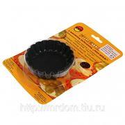 Формочки для кексов 90мм 6шт с антипригарным покрытием (789015) фото