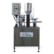Дозировочно-упаковочный автомат «АЛЬТЕР- 01» для фасовки вязких и пастообразных до 500 мл. фото