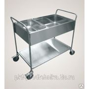 ТС-100: Тележка сервировочная для сбора посуды фото