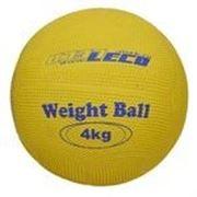 Т2213 Мяч для атлетических упражнений резиновый 4 кг фото