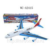 Самолет инерционный, в коробке, 49х7,9х11,5см (821557) фото