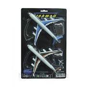 Самолеты инерционные, в наборе 2 штуки, 31х19х4,5см (822072) фото