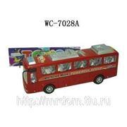 Автобус инерционный, в пакете, 25х6,5х8см (819091) фото
